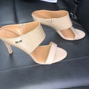 Calvin Klein shayna heels